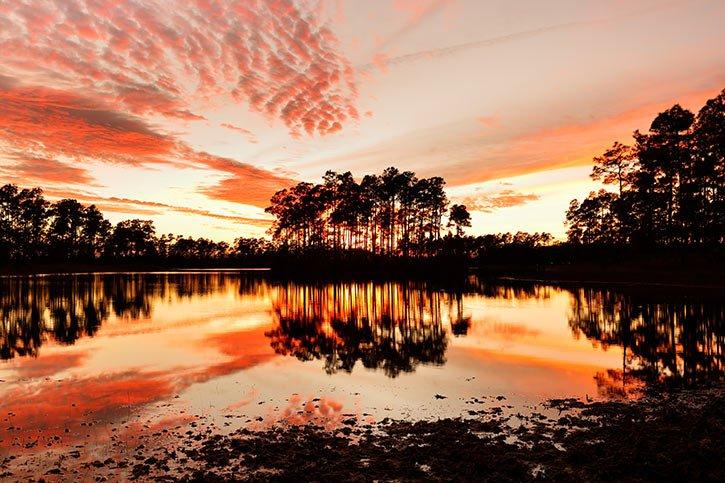 everglade-sunset
