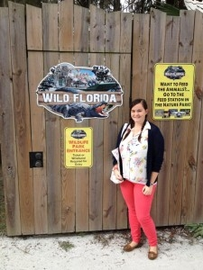 Kathleen at Wild Florida in Orlando!
