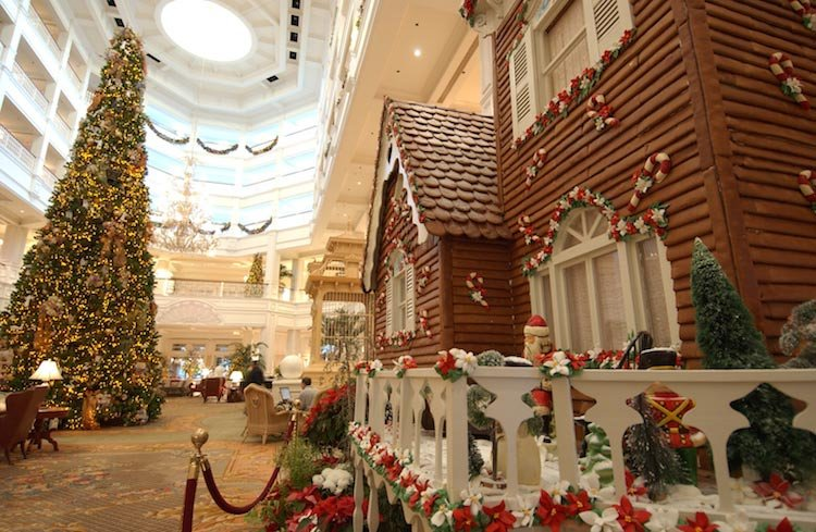 Disney Resort Christmas Tree