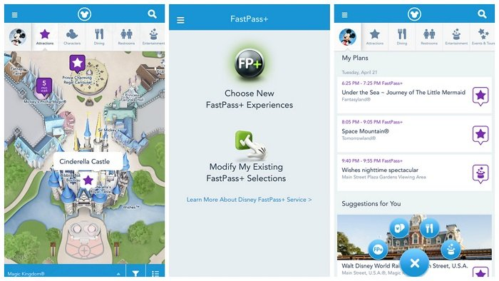 Disney Experience App