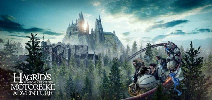 Hagrid's Magical Creatures Motorbike Adventure Release Date