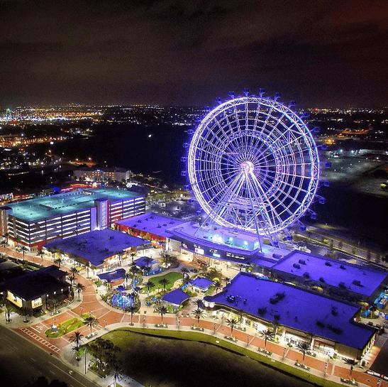 Orlando Eye at Night