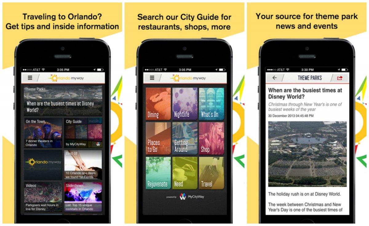 Orlando My Way App
