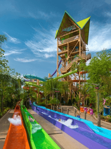 Orlando tallest, steepest multi-drop slide ride is now open!
