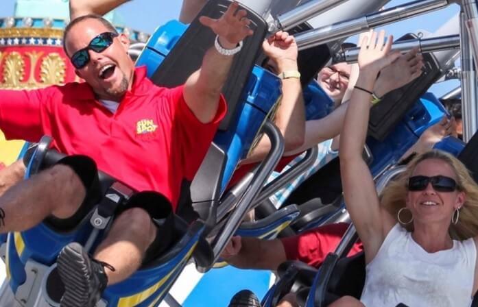 Rollercoasters Fun Spot Orlando