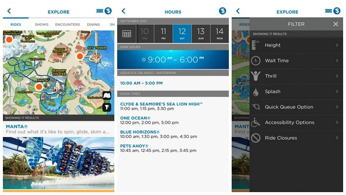 SeaWorld App