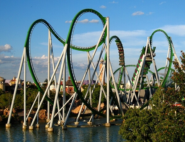 The Hulk Islands of Adventure