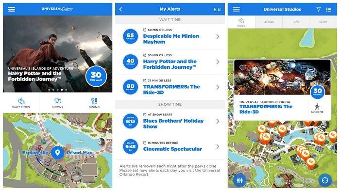 Universal Studios App