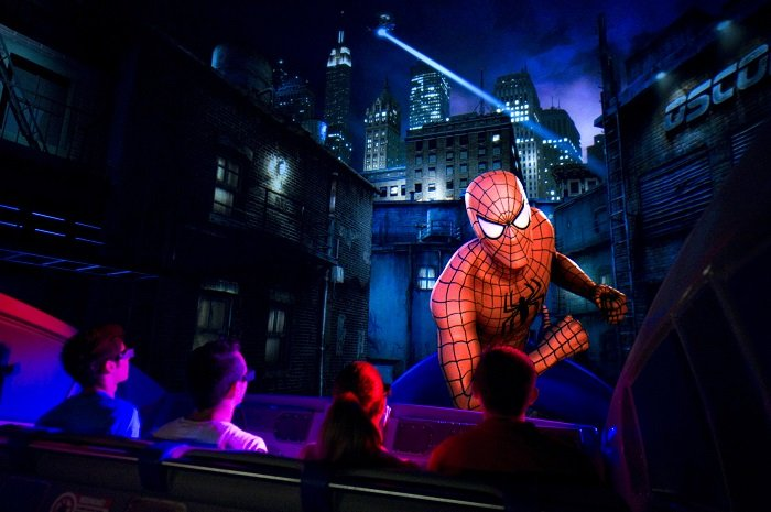 Amazing Spider Man Ride Universal
