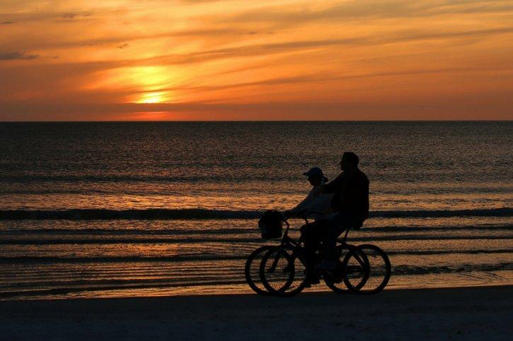 biking-on-the-beach