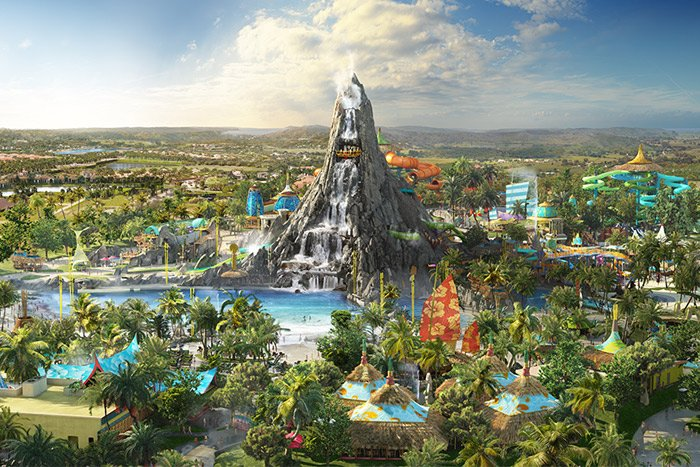 Everything you need to know about Universal Orlando's brand new park Volcano Bay