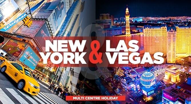 Multi Centre New York and Las Vegas