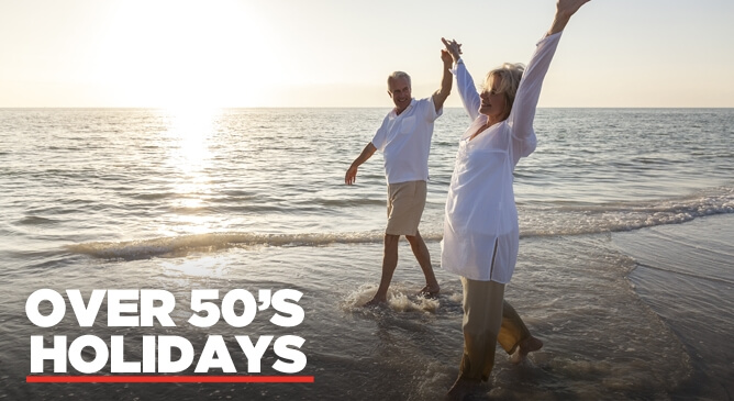 Over 50s Holidays